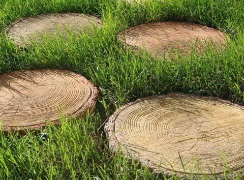 деревянные круги
