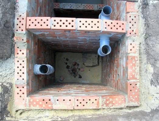 конструкция из кирпича