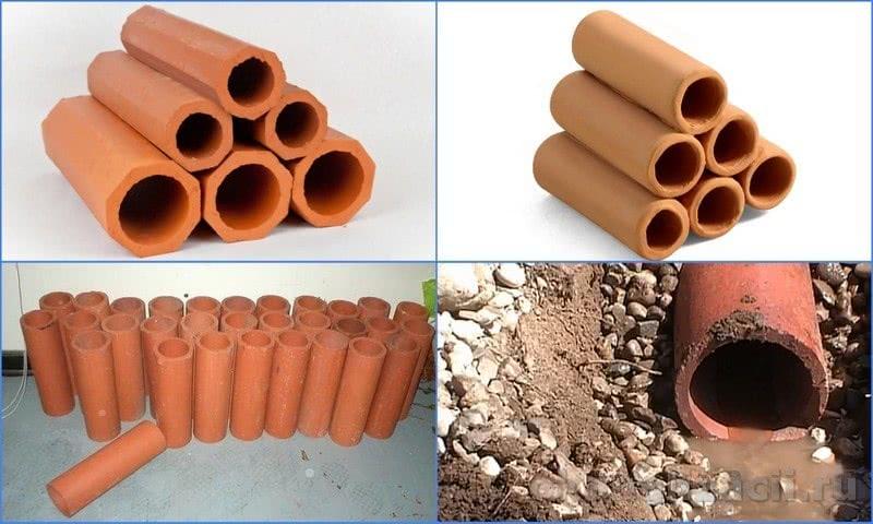 глиняные трубы