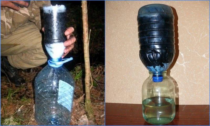 фильтр для воды от железа для дачи своими руками