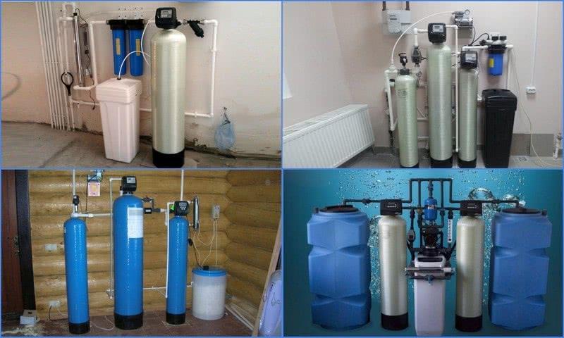 фильтры для обезжелезивания воды на даче