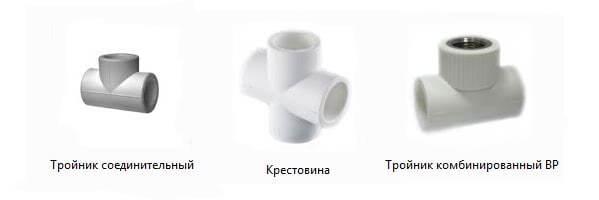 соединение полипропиленовых труб фитингами