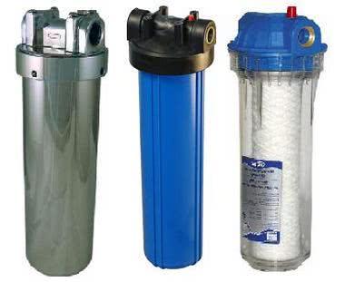 фильтры грубой очистки воды для квартиры