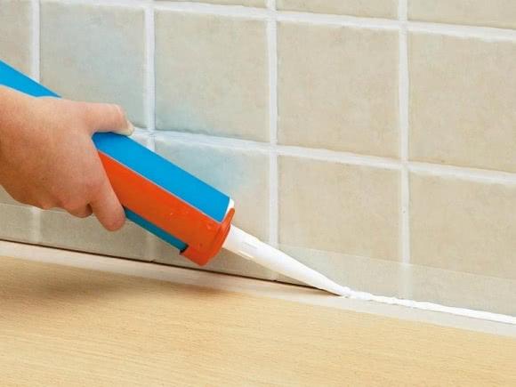 санитарный герметик для ванной