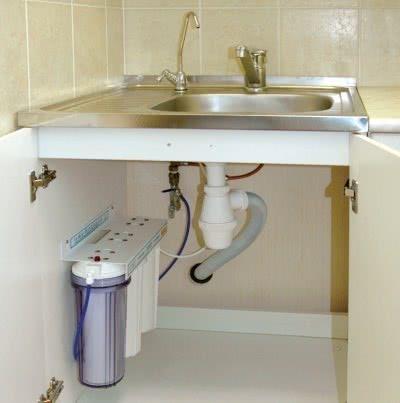 фильтра для очистки воды под мойку