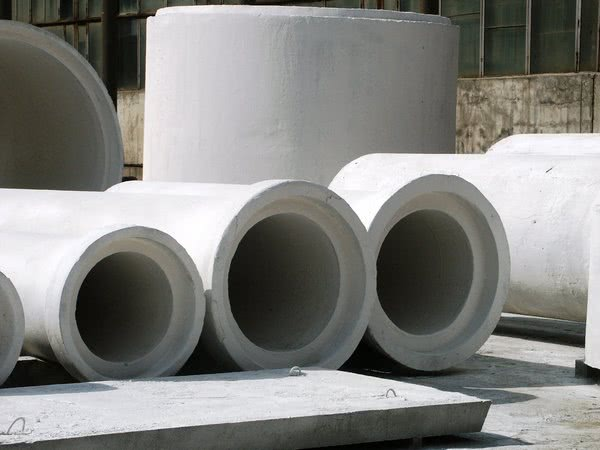 бетонные напорные трубы