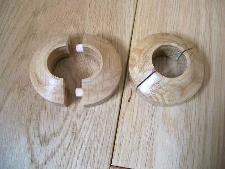 Обводка для труб — это достаточно простая, в большинстве случаев разборная, конструкция