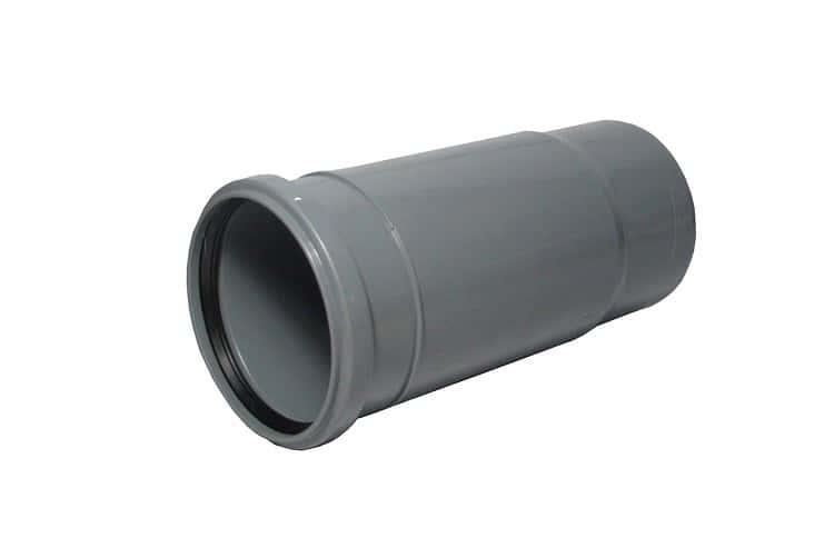 Компенсационный патрубок применяется во внутренних системах канализации