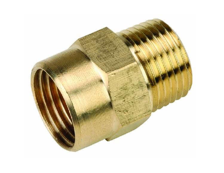 Муфты могут оснащаться резьбой или иметь компрессионное соединение