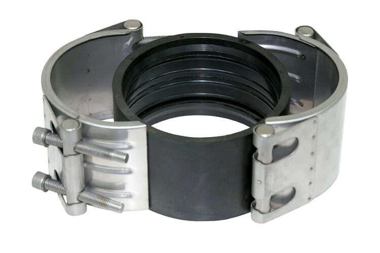 Специальные виды муфт применяют для ремонта трубопроводов различных типов