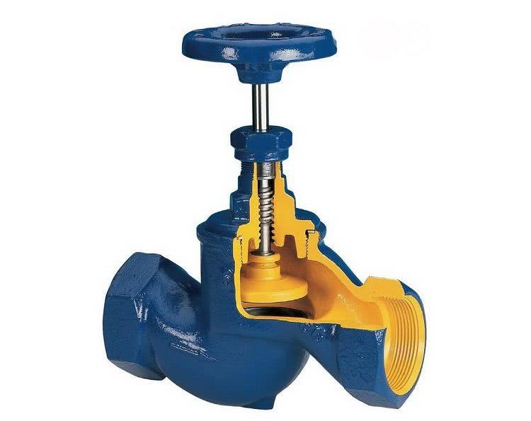 Конструкция вентиля отличается простотой, поэтому для ремонта и эксплуатации такого устройства не требуется больших затрат