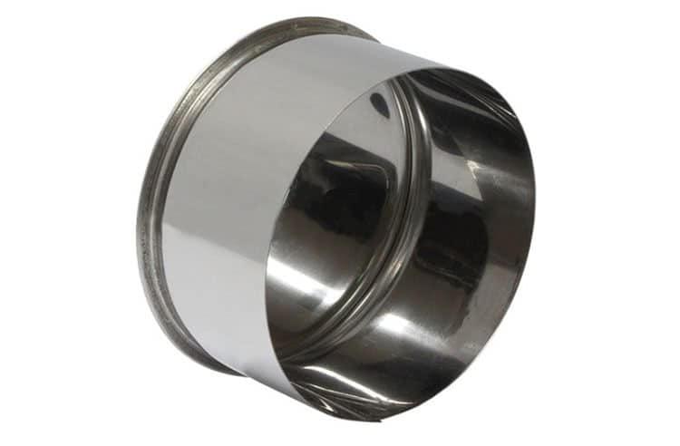 Если нужна декоративная заглушка, лучшим вариантом будет стальная