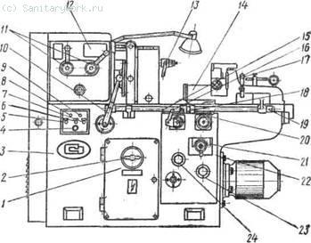 Трубонарезной полуавтомат 5Д07