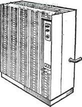 Отопительный аппарат Для обогрева отдельных помещений площадью от 30 до 150 м2 применяют отопительные аппараты соответственно АОГ-5, АОГВ-20, работающие на природном и сжиженном газе.
